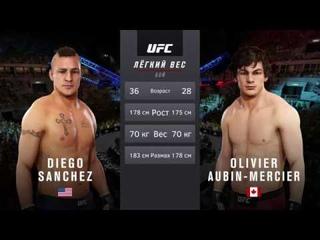 VBL 11 Lightweight Olivier Aubin-Mercier vs Diego Sanchez