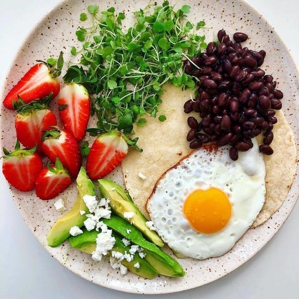 Идеальный завтрак - это когда так