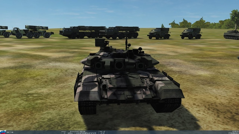 31 km long range shot from a tank with a SABOT shell in DCS Combined Arms