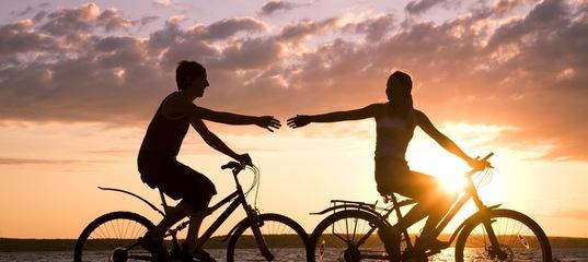 Друзья! Эта погода просто создана для велопрогулок и перемещения по городу на велосипеде!