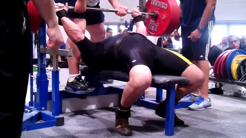 Olympia 2013 Las Vegas 287kg @ 110kg single ply