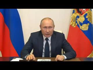 В Международный день защиты детей Владимир Путин провёл встречу с семьями, удостоенными орденов Родительская слава.