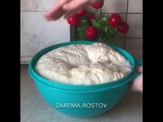 Домашний хлеб (ингредиенты в описании видео)