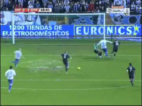 Guti Backheel Assist 2-0 Real Madrid vs. Deportivo La Coruna