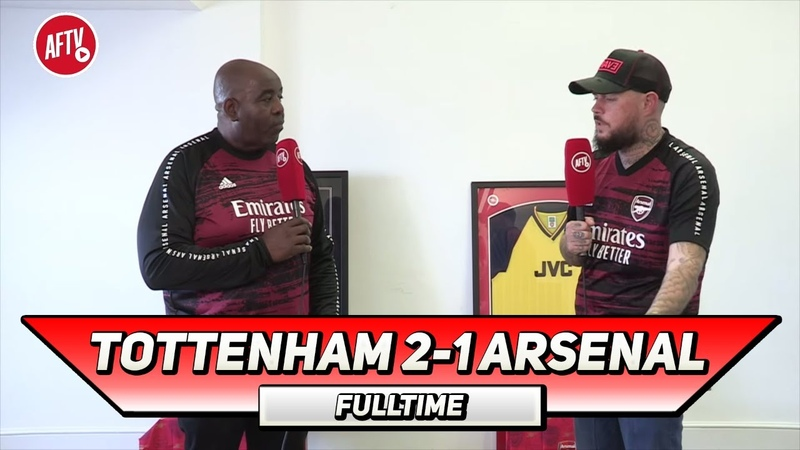 Tottenham 2 1 Arsenal We Lost To The Worst Spurs Team Angry DT