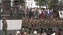 Открытие стелы Город воинской славы на Красной площади г. Ельца 7 мая 2010 года