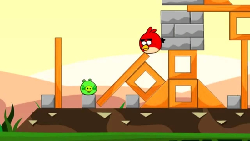 Dorkly Bits Angry Birds Friendship RUS