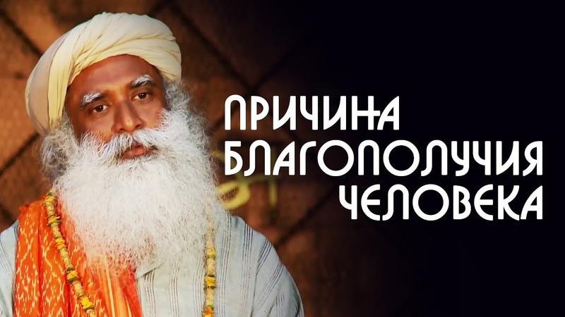 Благополучие человека и его близких Садхгуру на Русском