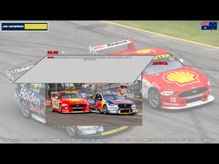 Virgin Australia Supercars Championship: Robson Civil Projects Townsville SuperSprint, Гонка 2,  [A21 Network]