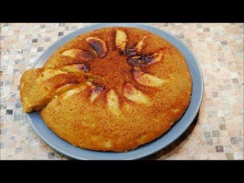 Абалденно вкусный яблочный пирог на сковороде👍 Шарлотка без духовки
