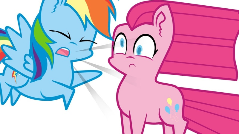Ask Ponies - Pinkie Pie and Rainbow Dash [Animatic]