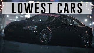 Lowest cars in NFS15 Car Meet ( CINEMATIC 3440x1440 )