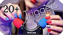ASMR 20 TASCAM Triggers for Sleep Tingles (NO TALKING) Deep Relaxing Ear to Ear Sounds 💙 3 Hours