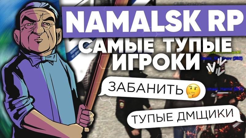 ТУПЫЕ ИГРОКИ на NAMALSK RP GTA CRMP