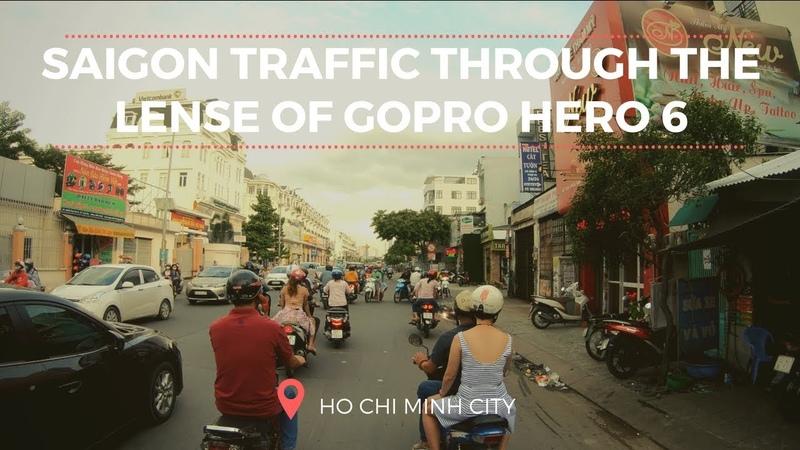 Trải nghiệm giao thông Sài Gòn qua góc kính của Camera hành trình Gopro Hero 6 Black