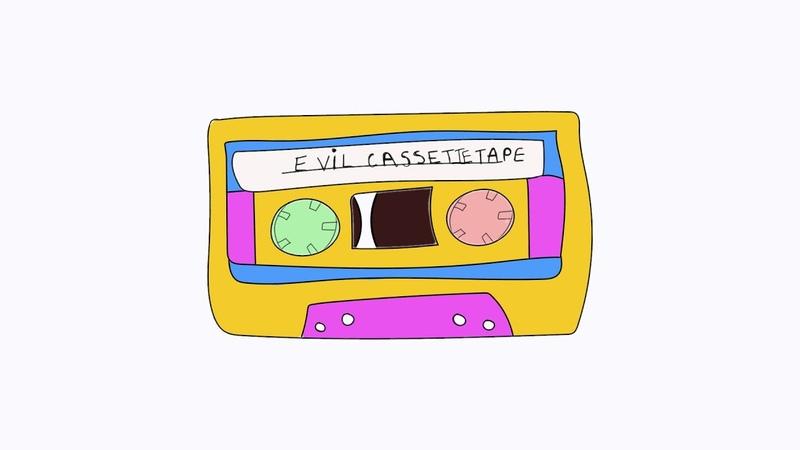 Evil Cassette Tape Pop Up Video Jay Moussa Mann