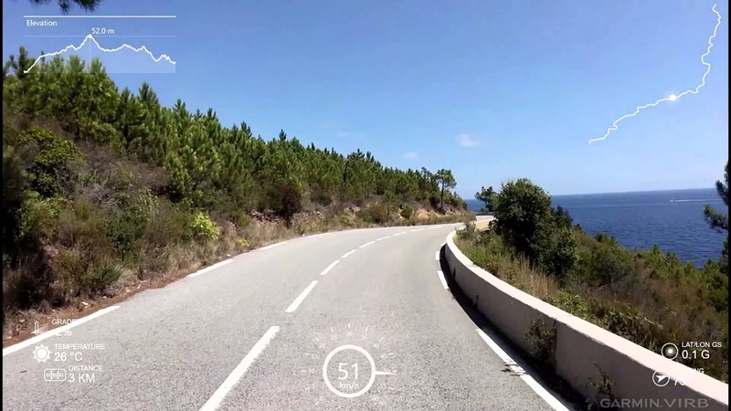 One of the most beautiful roads in the world Cote d'Azur HD