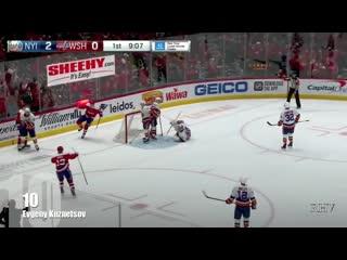 Top 10 Goals By Russian Player - 2019-20 NHL Regular Season