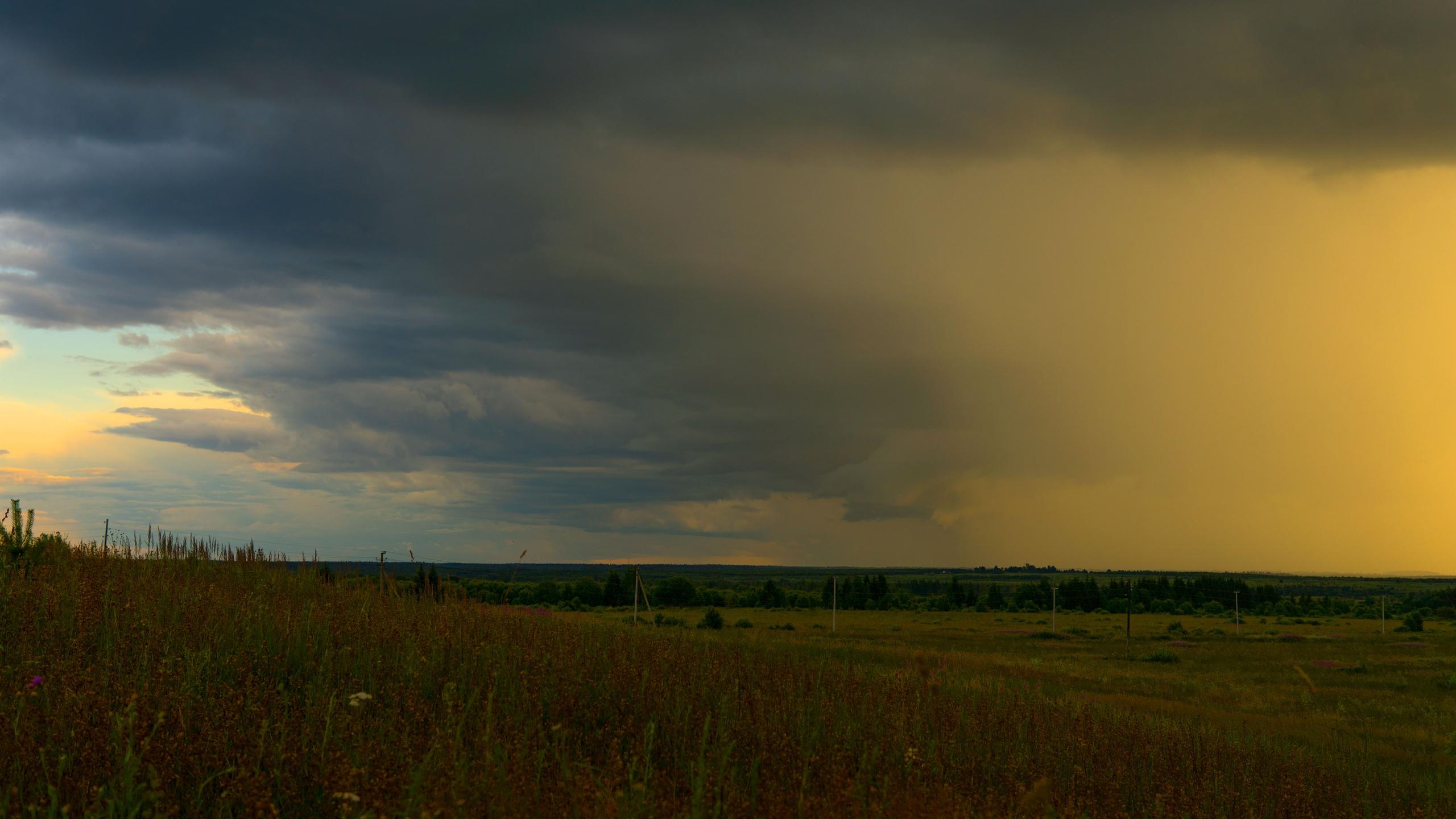 Таймлапс видео дождей в Тверской области опубликовали оператор любитель