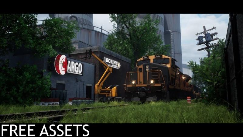 Junkyard (Free Assets Unreal Engine 4)