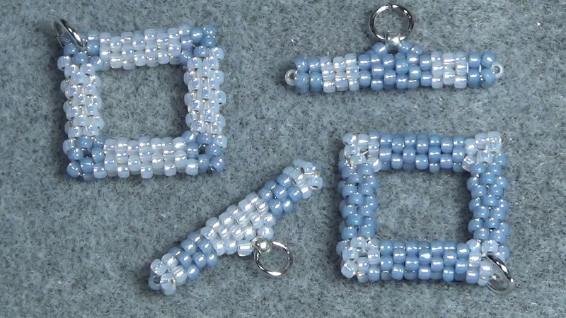 Tutorial Beaded toggle clasp