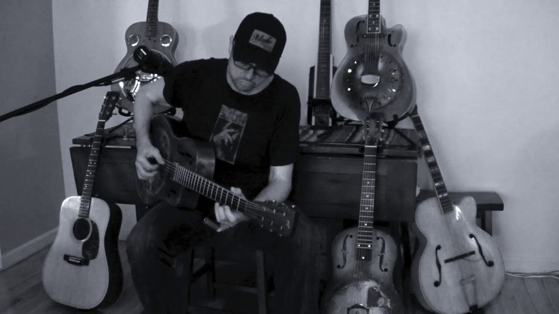 Dirt Floor - Chris Whitley (FULL ALBUM COVER by Doug Wamble)