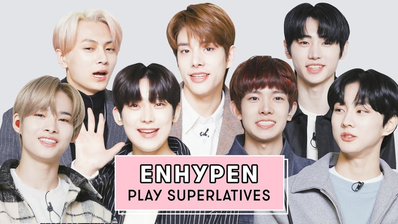 ENHYPEN Reveals Whos The Best Dancer Who Takes The Most Selfies And More | Superlatives | Seventeen