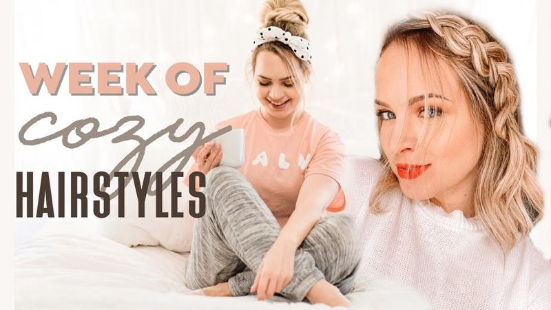 A Full Week of Cozy Hairstyles Kayley Melissa