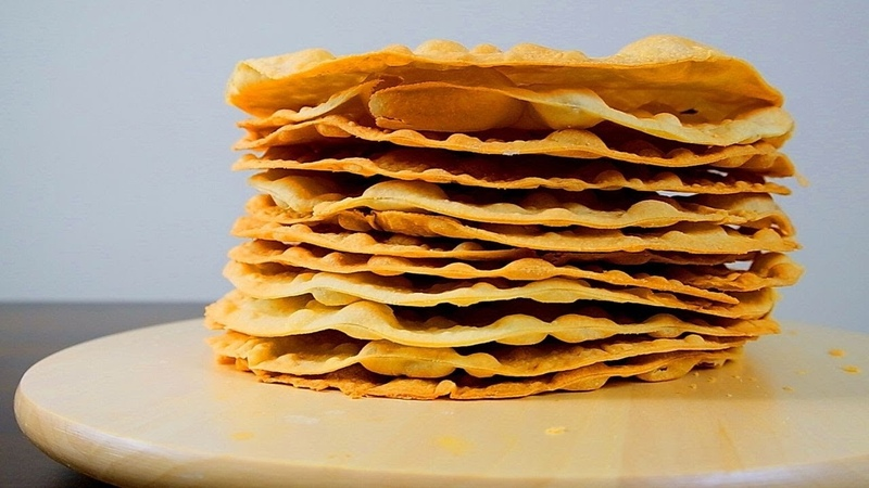 Торт МУЖУ на день рождения НАПОЛЕОН классический рецепт с заварным кремом в домашних условиях