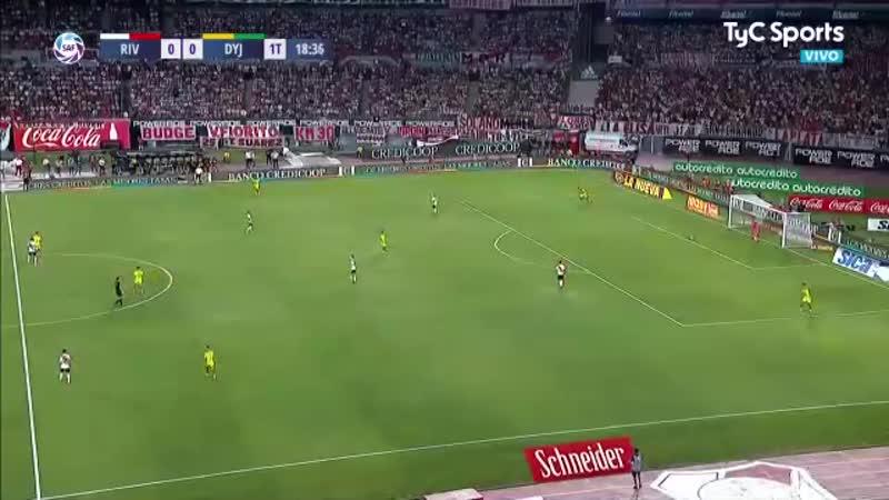 Чемпионат Аргентины 2020 Ривер Плейт Хустисия 1 тайм