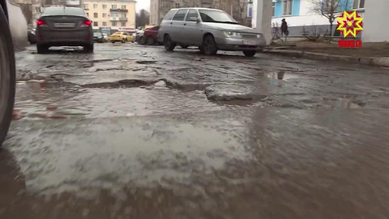 Дорогу возле Центральной городской больницы в Чебоксарах отремонтируют