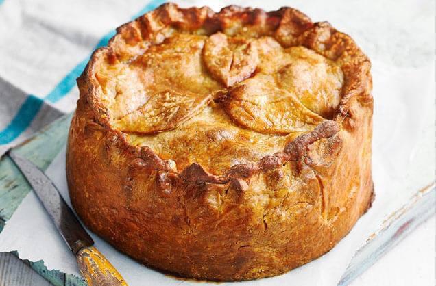 А в не замечали что пироги удивительным образом отражают национальный характер страны где они были придуманы ?
