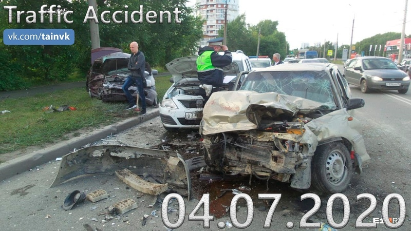 Подборка аварии ДТП на видеорегистратор от 04 07 2020 год