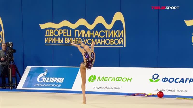 Екатерина Селезнева обруч личное многоборье Чемпионат России 2021 Москва
