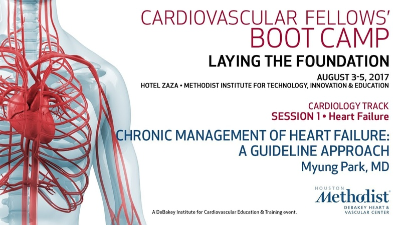 Chronic Management of Heart Failure A Guideline Approach Myung Park MD