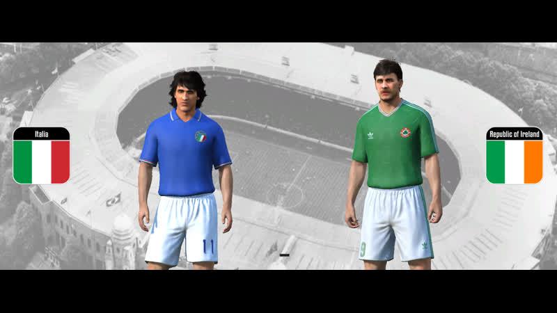 ЧМ 90. 1/4 финала. Италия - Ирландия
