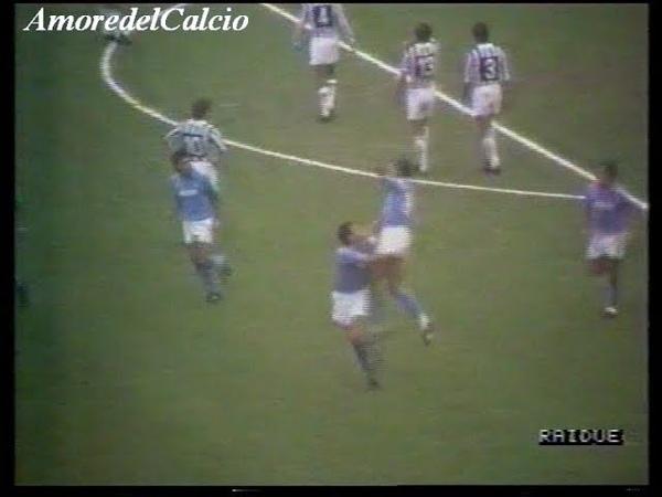 Juventus Napoli 3 5 CARNEVALE CARECA 3 GALIA ZAVAROV DE AGOSTINI RENICA 6ªgiorn And 20 11 1988