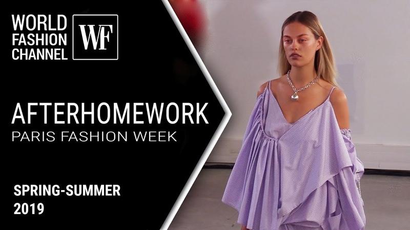 Afterhomework spring summer 2019 Paris fashion week