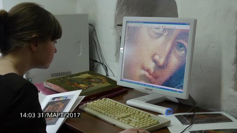 Работа реставраторов в Сергиево-Посадском музее-заповеднике