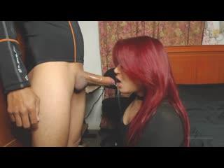 Trans Girl 7 shemale - Sucking  Fuckin Neighbour 1080p (Gey шлюха TS Ladyboy Трап Sissy Tranny гей анал минет секс порно Porno)