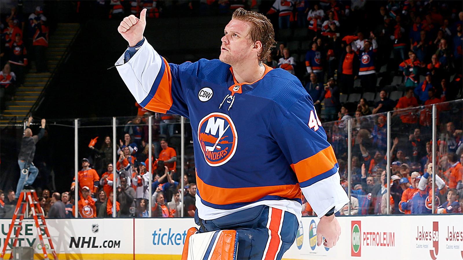 Один из лучших вратарей НХЛ человек который получил награду за упорство мужество и преданность хоккею  Робин Ленер
