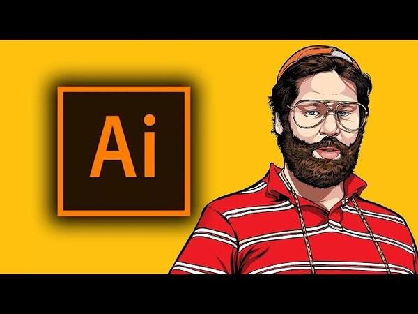 Урок 76 Экономия времени при помощи клавиш быстрого доступа в Adobe Illustrator обучение с нуля