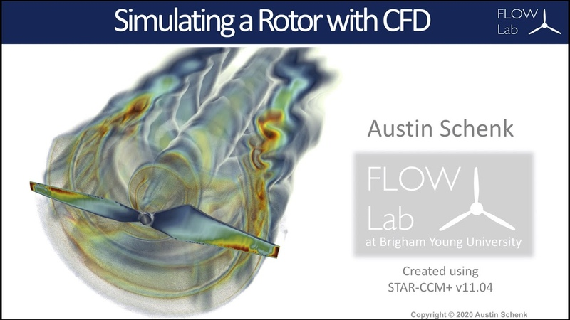 Tutorial Modeling a Propeller Rotor in CFD STAR CCM