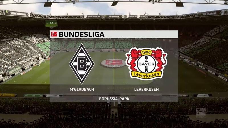Боруссия М Байер Бундеслига FIFA 20 22 03 2020