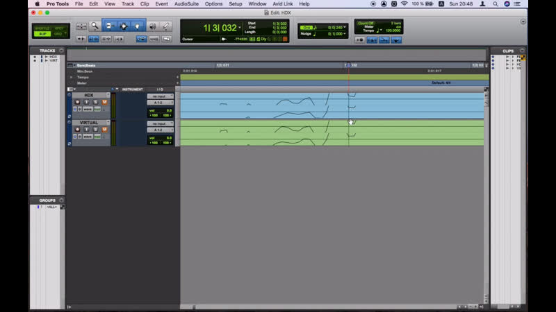 PRO TOOLS HDX real time mix VS offline bounce