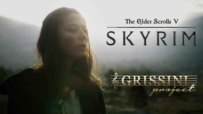 Skyrim The Dragonborn Comes cover by Grissini Project