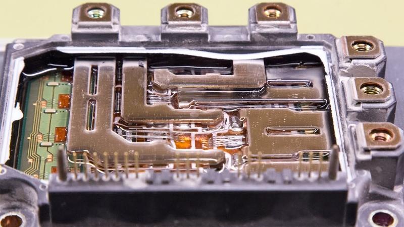 3-Phase IGBT Module Teardown - Fuji 7MBP50RA120 From 3 kW Omron Servo Drive - Isolation, Day 36