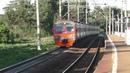 Электропоезд ЭД4МК 0023 платформа Санаторная