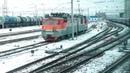 Лиски из окна поезда \Liski RZD