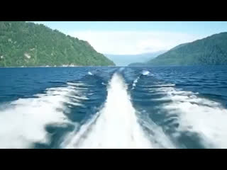 Boat trip on Lake Teletskoye